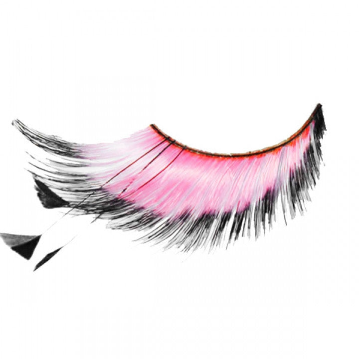 Pink False Eye Lashes