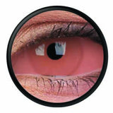 Pink Scleral Full Eye Coloured Contacts (Caliban)
