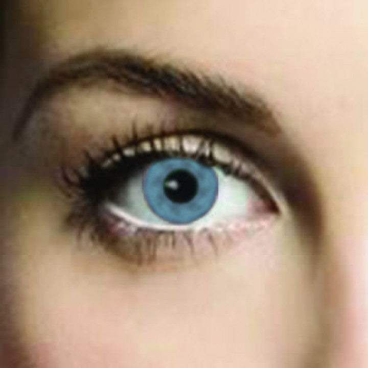 Real Blue Coloured Contacts (Comfort)