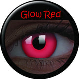 Red Glow Coloured Contacts