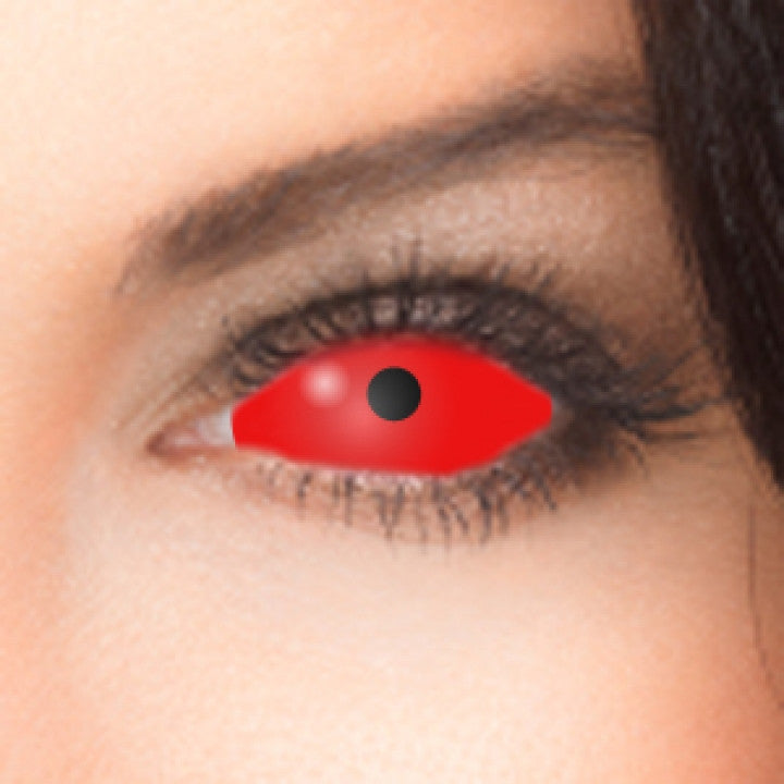 8af298728b Red Scleral Full Eye Coloured Contacts (Cyclop) | coloured-contacts-hut