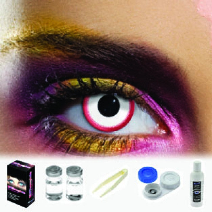 Saw White Coloured Contacts (Kit)