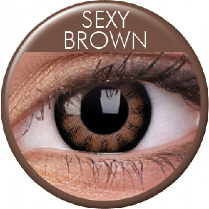 Sexy Brown Coloured Contacts