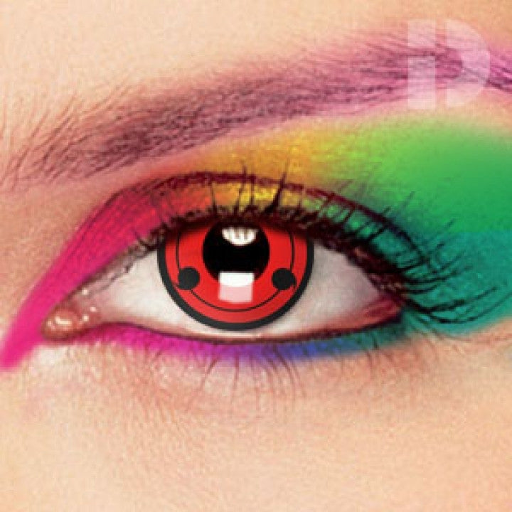 Sharingan Coloured Contacts