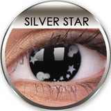 Silver Star Coloured Contacts