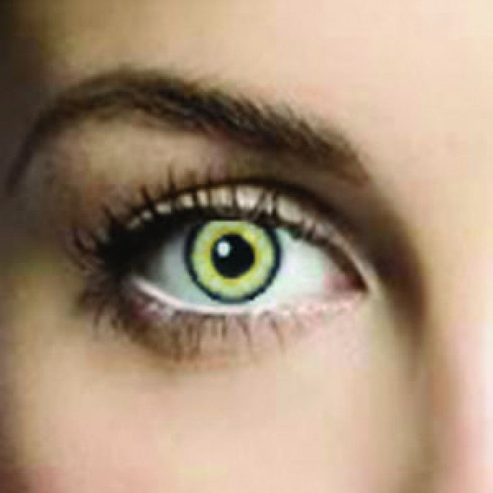 Soft Green Coloured Contacts (Comfort)