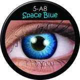 Space Blue Coloured Contacts