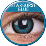 Starburst Blue Coloured Contacts
