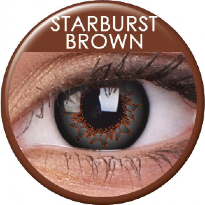 Starburst Brown Coloured Contacts