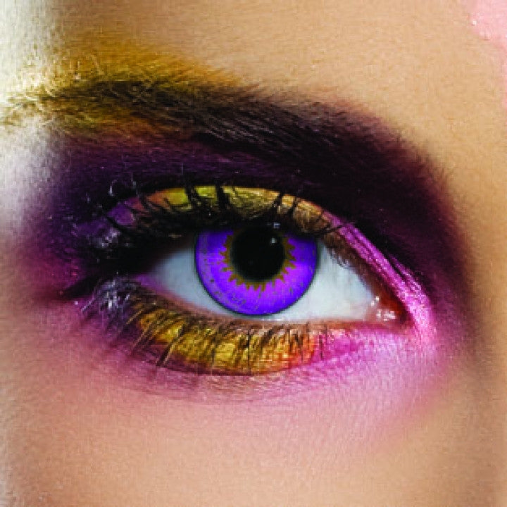 Tone Violet Coloured Contacts