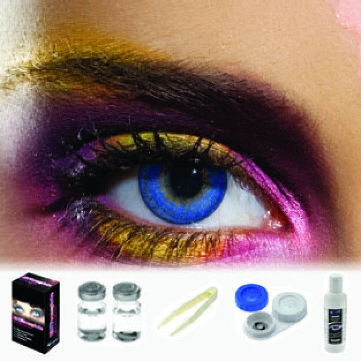 Tone Blue Coloured Contacts (Kit)