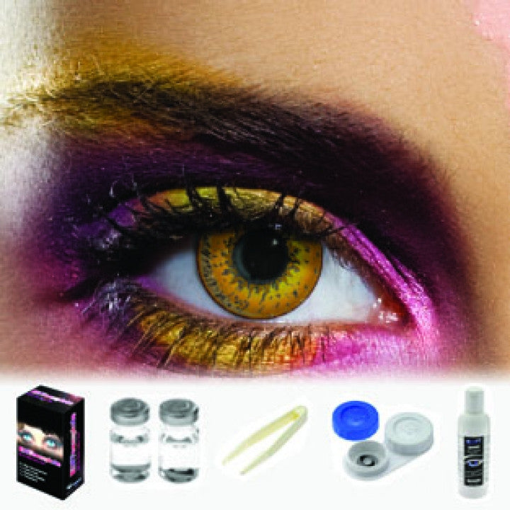 Tone Hazel Coloured Contacts (Kit)