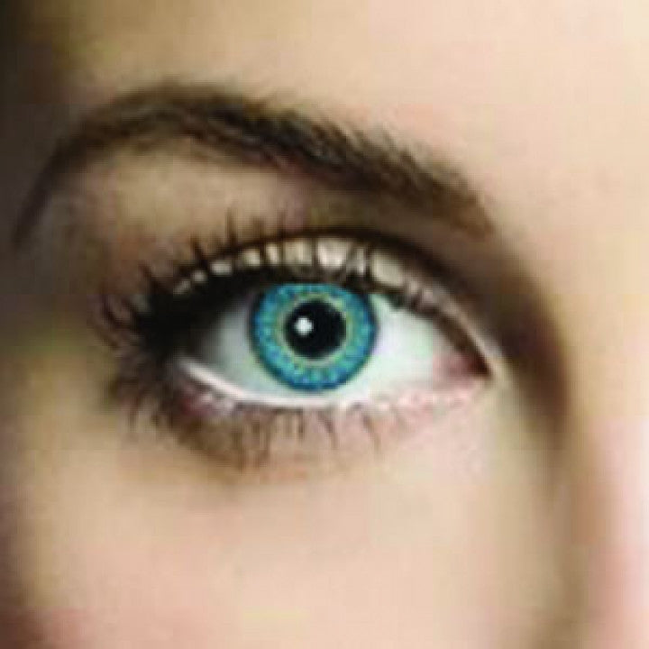 Topaz Blue Coloured Contacts (Comfort)