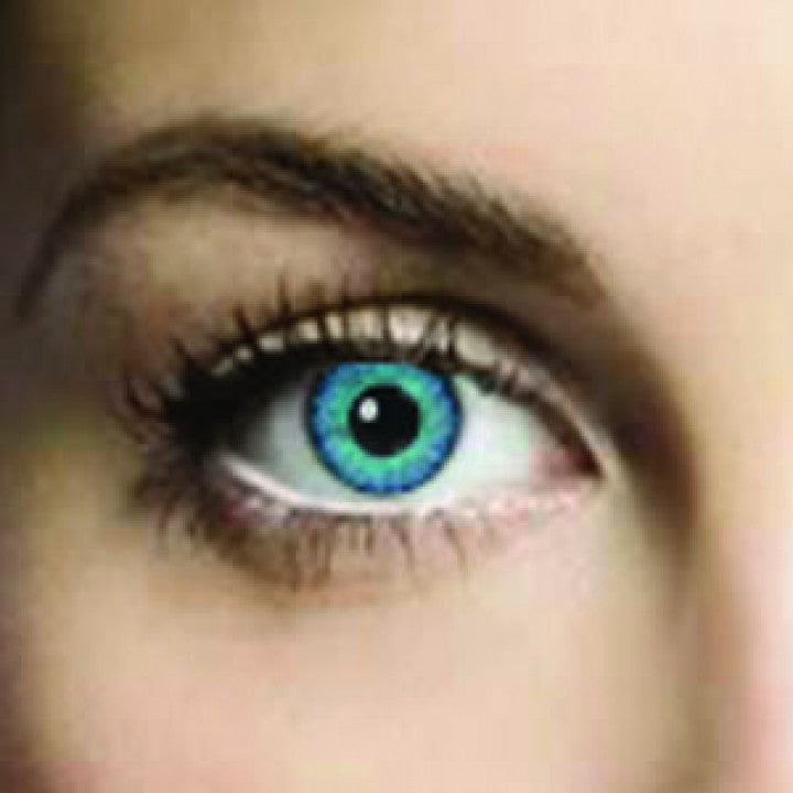 Two Blues Coloured Contacts (Comfort)