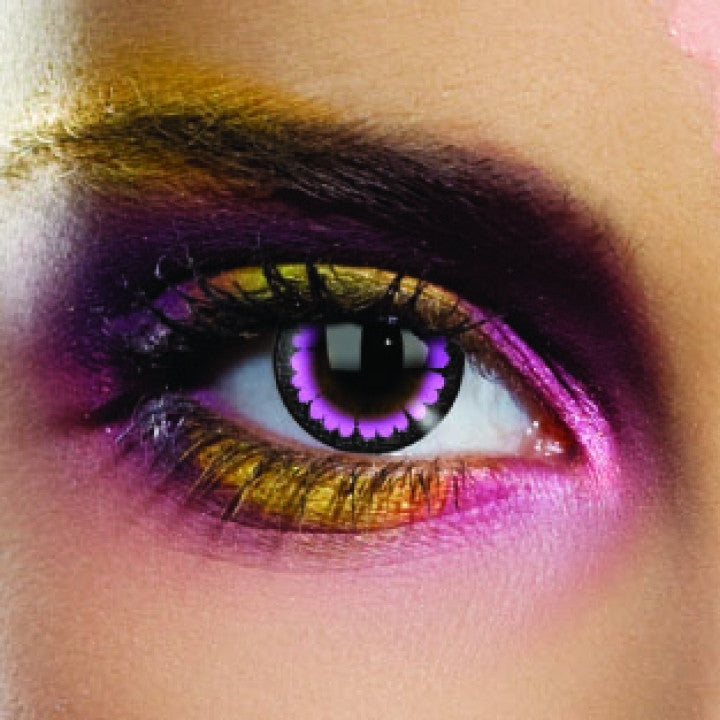 Ultra Violet Coloured Contacts