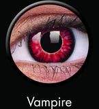 Vampire Coloured Contacts