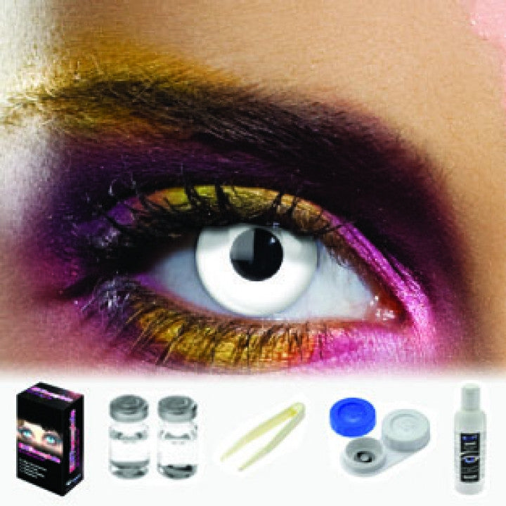 White Out Coloured Contacts (Kit)