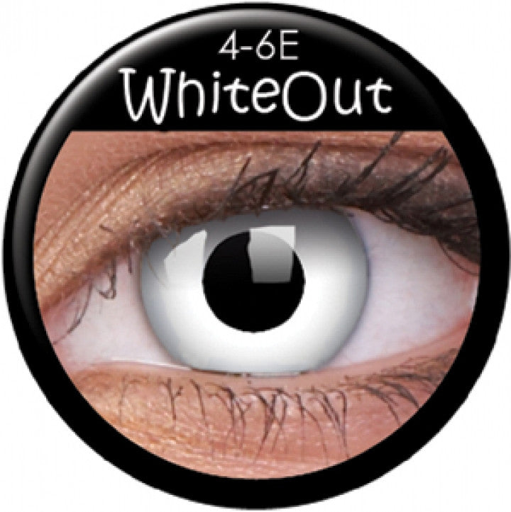 White Out Coloured Contacts