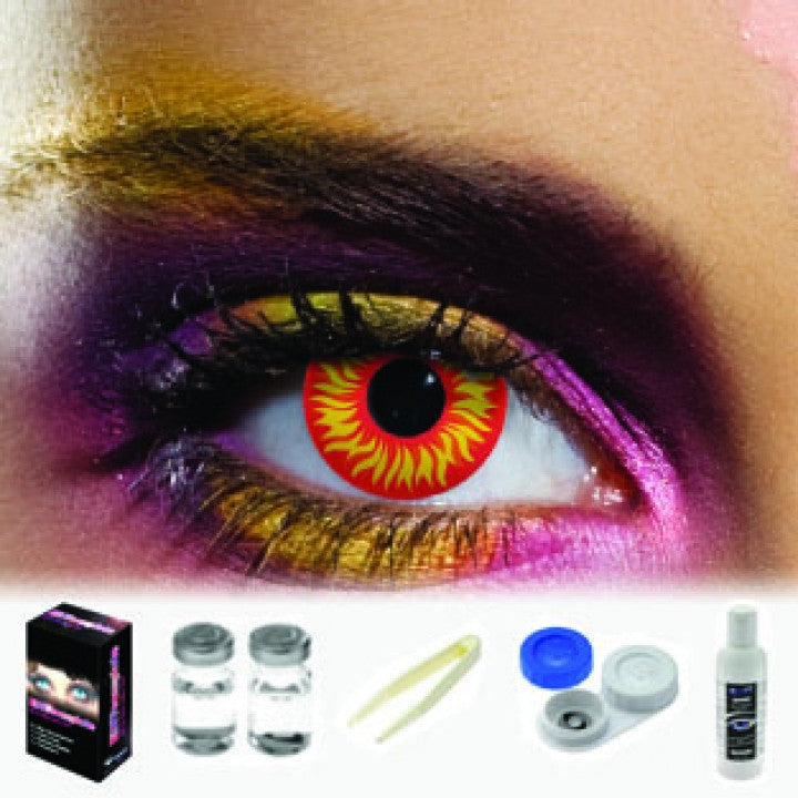 Wolf Eye Coloured Contacts (Kit)