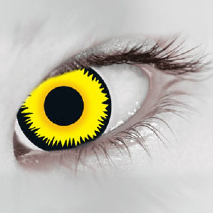 Yellow Werewolf Coloured Contacts (Comfort)