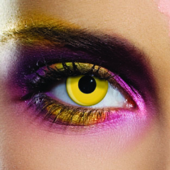 Yellow Coloured Contacts