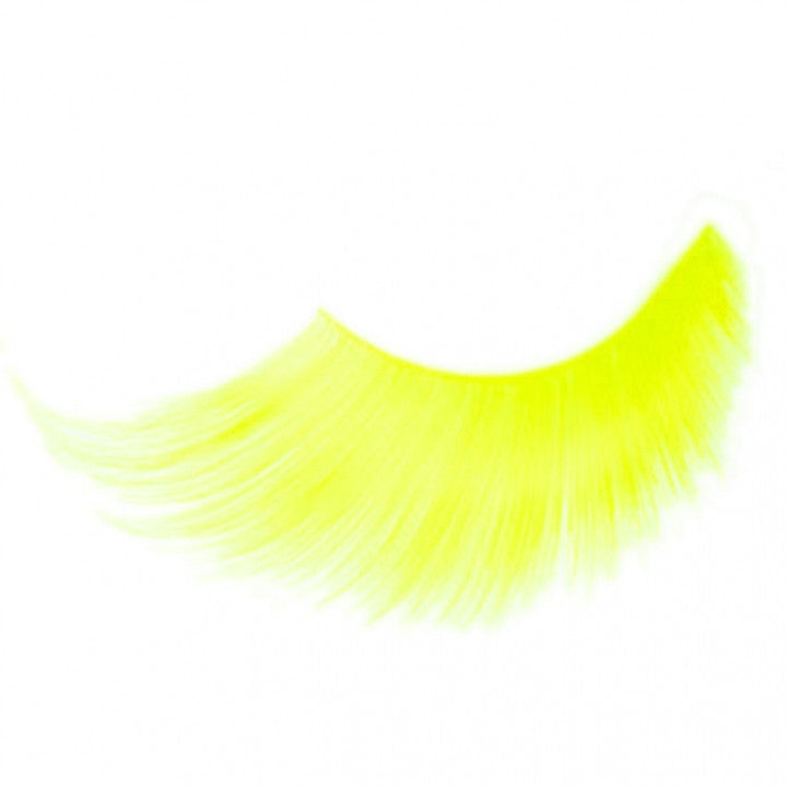 Yellow False Eye Lashes