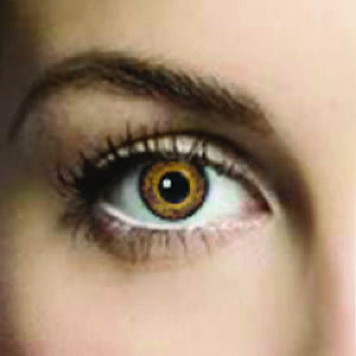 Yellow Oak Coloured Contacts (Comfort)