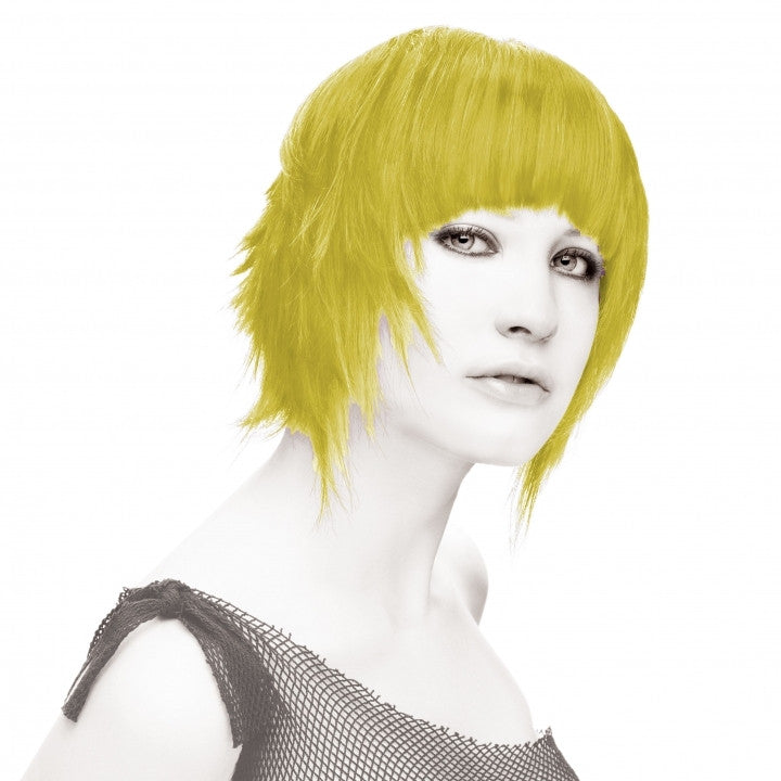 Yellow Semi Permanent Hair Dye
