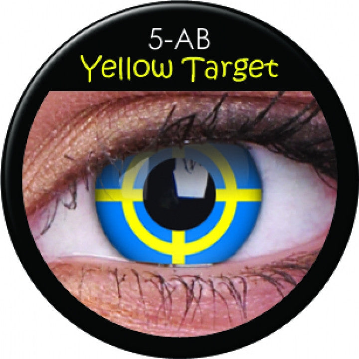 Yellow Target Coloured Lenses