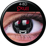 Skull Coloured Contacts