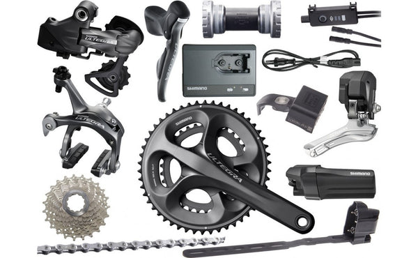 Shimano Ultegra Di2 Mech Disc Road Bike Build Kit