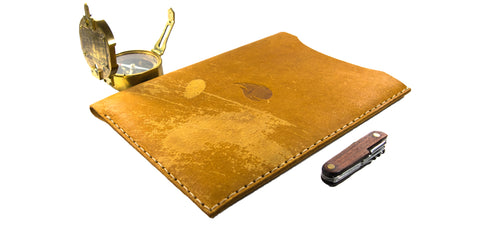 MacBook Leather Sleeve, Joshua Slocum Collection