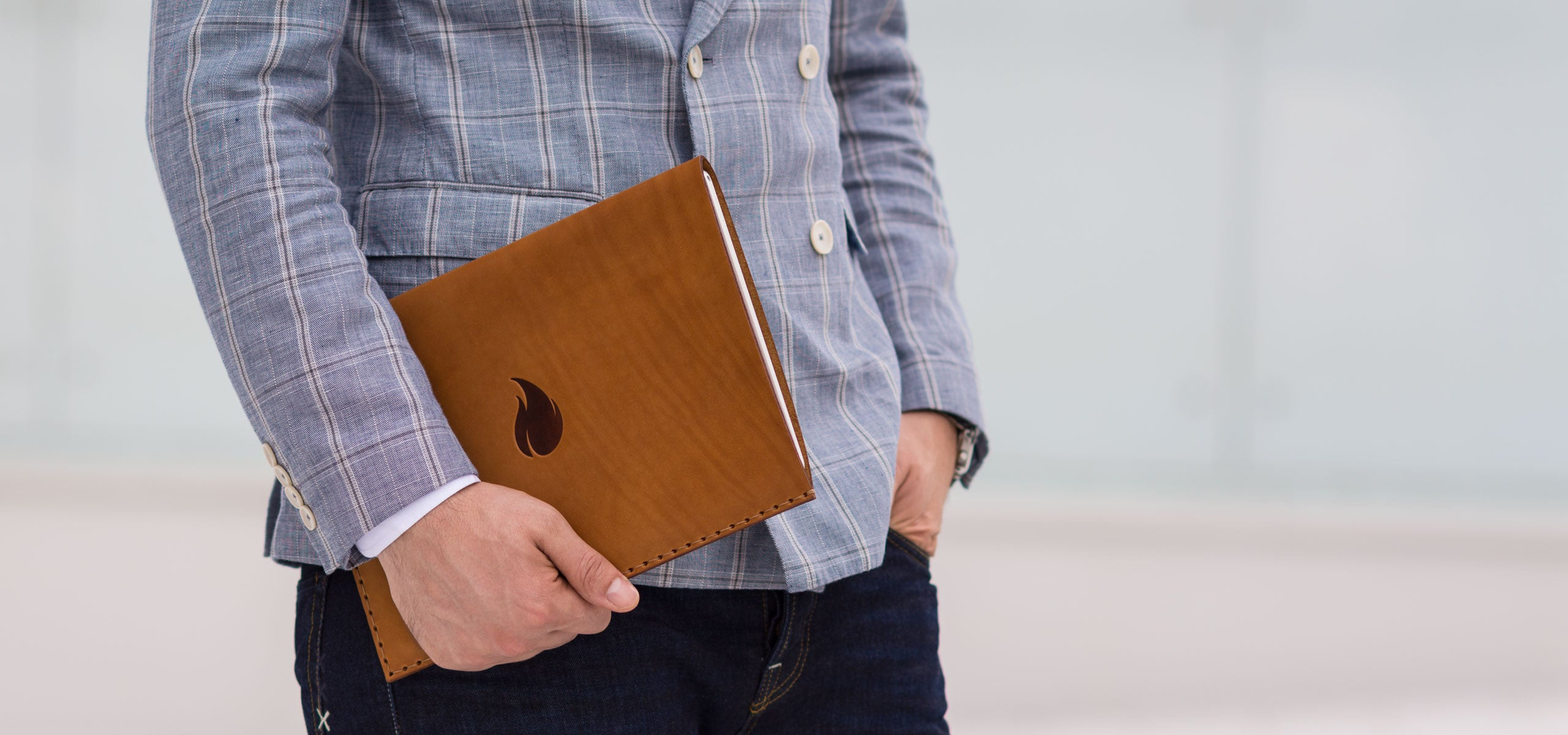 Brown Collection, MacBook and iPad Leather Sleeves