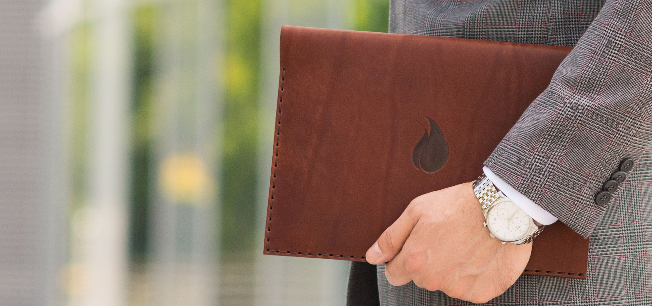 Burgundy Collection, MacBook and iPad Leather Sleeves