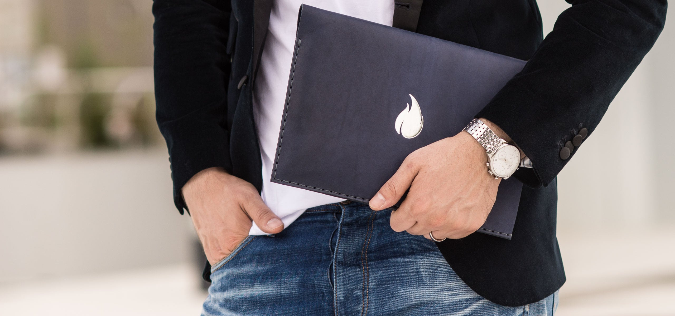 Ocean Collection, MacBook and iPad Leather Sleeves