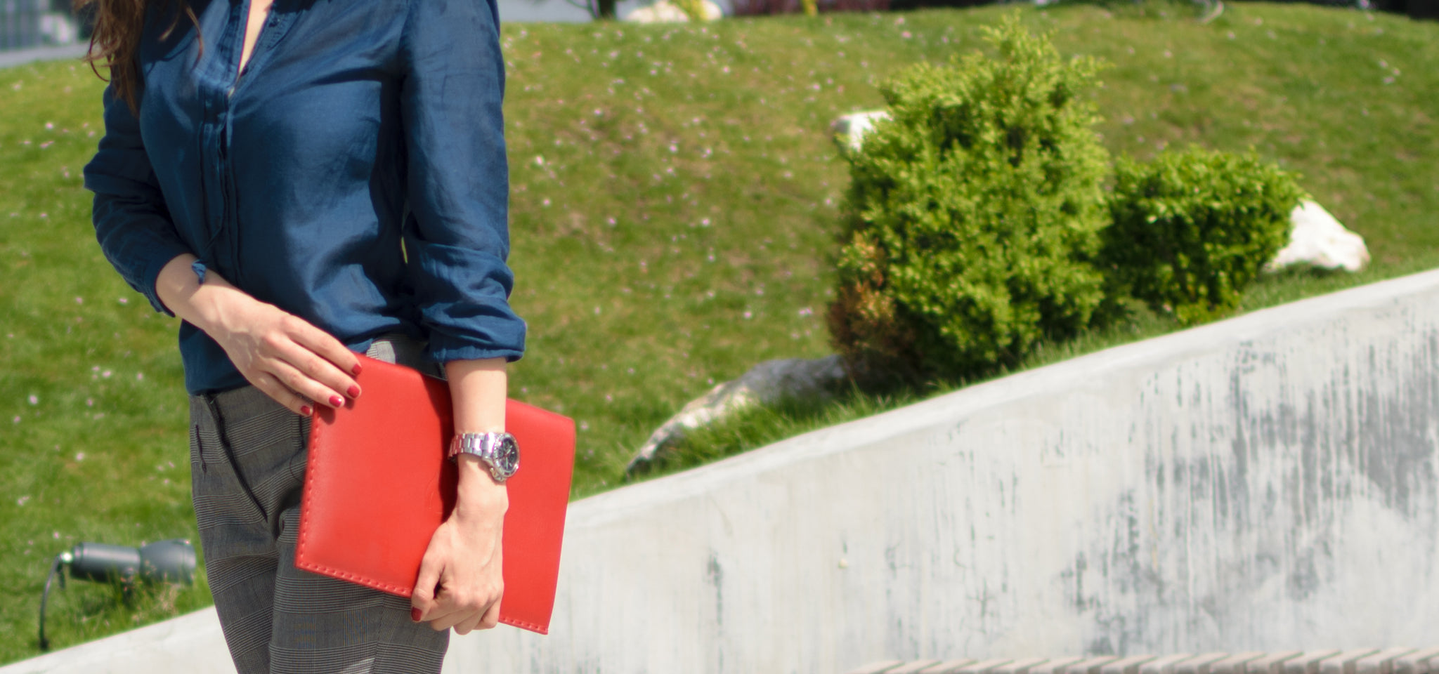 All Red Collection, MacBook and iPad Leather Sleeves