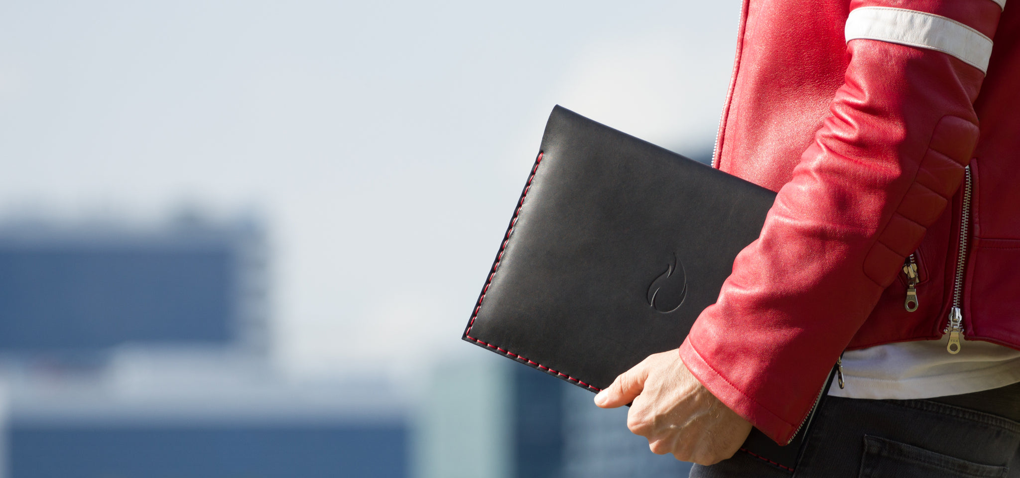 Entrepreneur Collection, MacBook and iPad Leather Sleeves