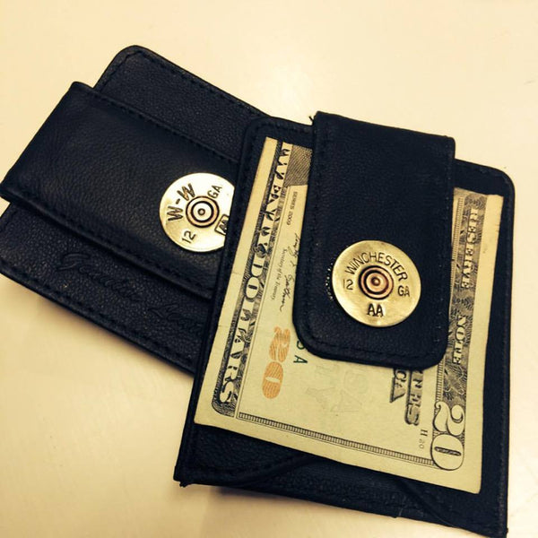 Men's Bullet Money Clip with Credit Card Slots