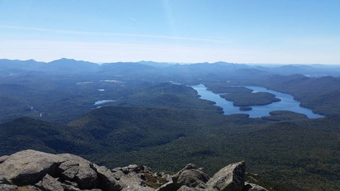 Lake Placid from Whiteface Mountin