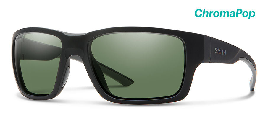 Outback Matte Black-Polarized Gray Green