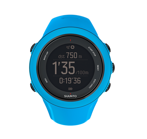 Suunto Ambit 3 Sport Watch in Blue