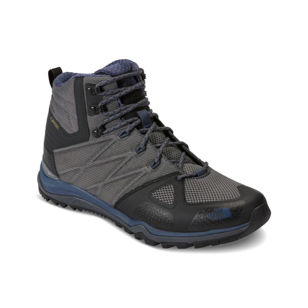 The North Face Men's Ultra Fastpack II Mid GTX in Zinc Grey and Shady Blue