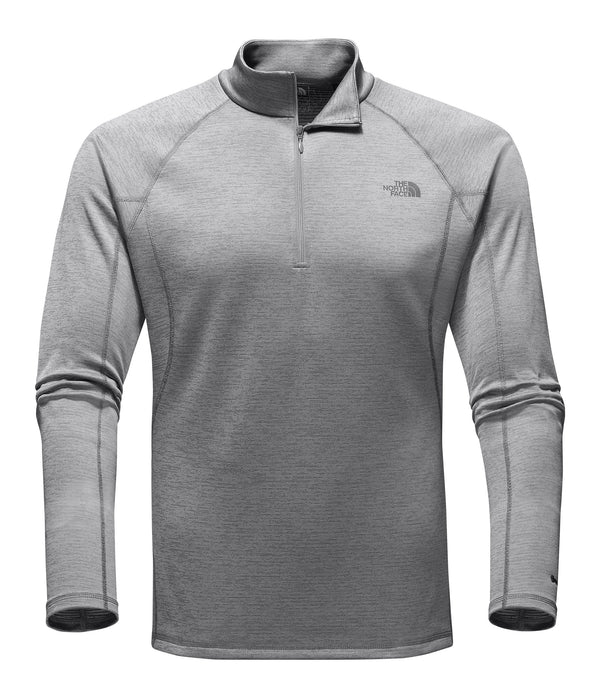 Men's Warm Long Sleeve Zip Neck