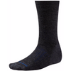Men's Smartwool PhD Outdoor Heavy Crew Sock in Charcoal (Black with Blue highlights)