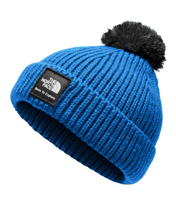 14bc64a8133 The North Face · Baby Box Logo Pom Beanie