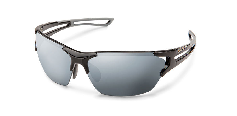 Cutback Black-Polarized Silver Mirror