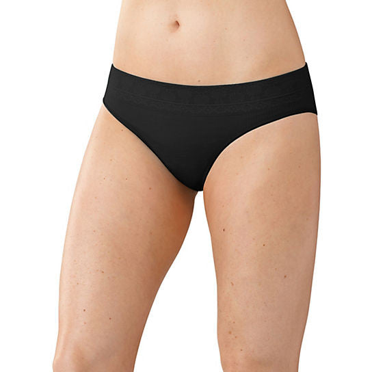 Smart Wool Women's PhD Seamless Bikini in Black