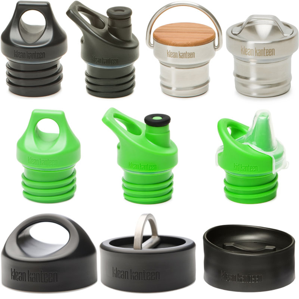 Assorted Klean Kanteen Bottle Caps