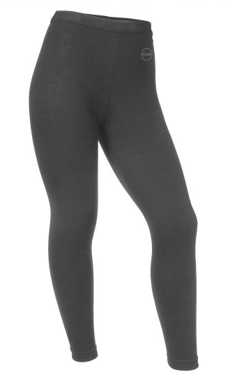 Kombi Body 2 Merino Wool Jr. Bottom Baselayer Tights in Heather Charcoal