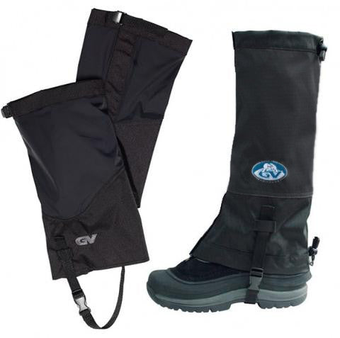 GV Waterproof & Breathable Gaiters for Men in Black